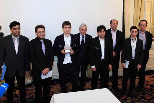 La ceremonia de clausura en Zurich 2014