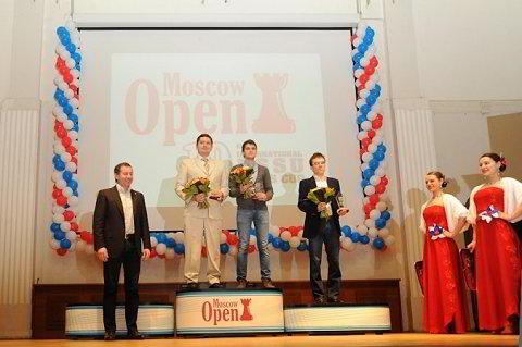 Los ganadores del Open de Moscú 2014