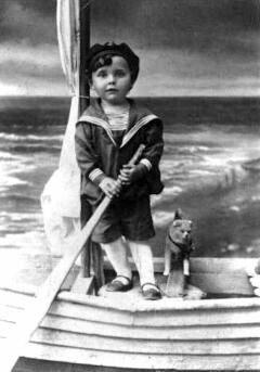 David Bronstein de niño