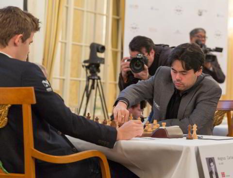 Duelo de titanes: Nakamura vs Carlsen