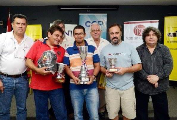 Brito,Delgado y Jimenez, el podio del II Magistral de Verano ABC Color