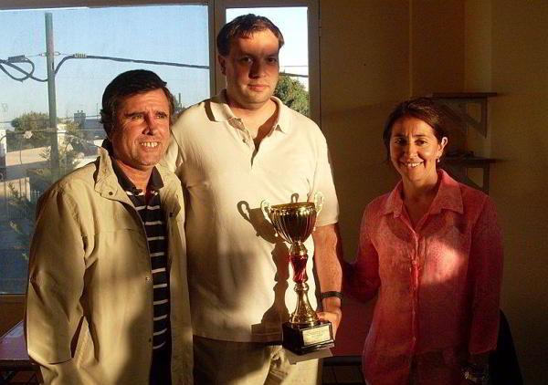 Nahuel Diaz, ganador en Playa Unión