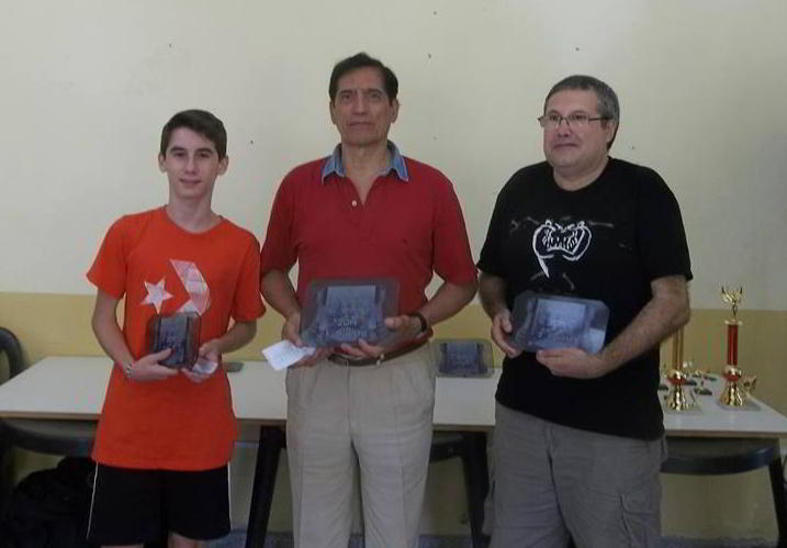 Lagar, Herrera y Acosta, el podio en Villa de Soto 2014