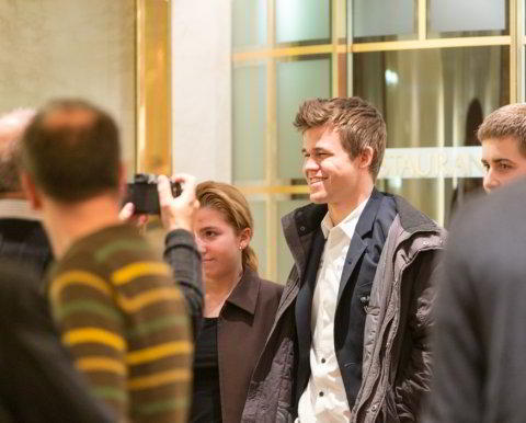 Carlsen, vencedor en Zurich
