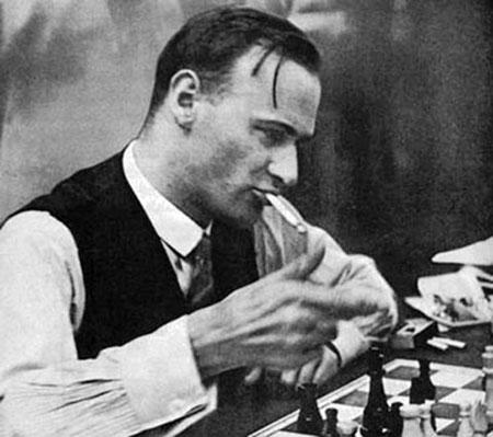 El maestro alemán Fritz Samisch