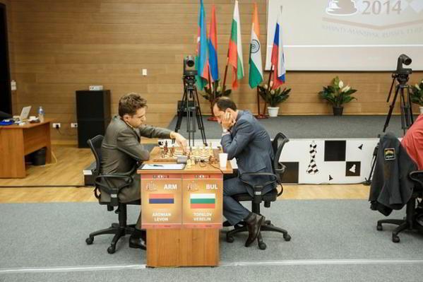 Topalov vs Aronian