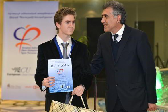 El joven español David Anton sorprendió a todos con su 2do lugar