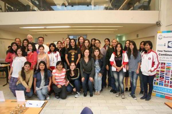Participantes del Torneo Continental Femenino 2014 en Villa Martelli