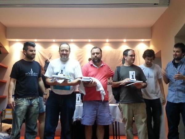 Grandes maestros: Diego Valerga, Sergio Slipak y Salvador Alonso