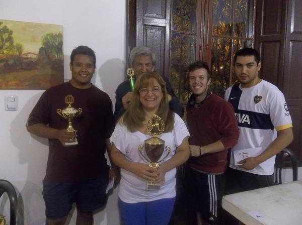 """Liliana Burijovich, ganadora del IRT """"Memorial Raúl Espinoza"""""""