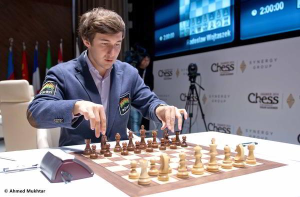 Sergey Karjakin, un duro rival para Magnus Carlsen