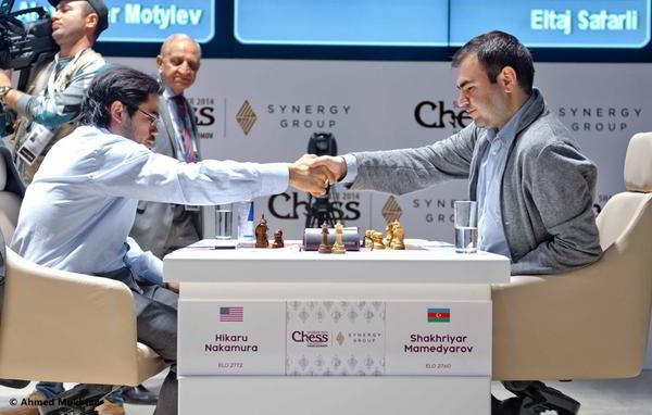 Nakamura es un luchador nato: tras caer ayer ante Carlsen, hoy ganó a Mamedyarov