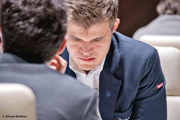 Magnus Carlsen, campeón con mucha garra.