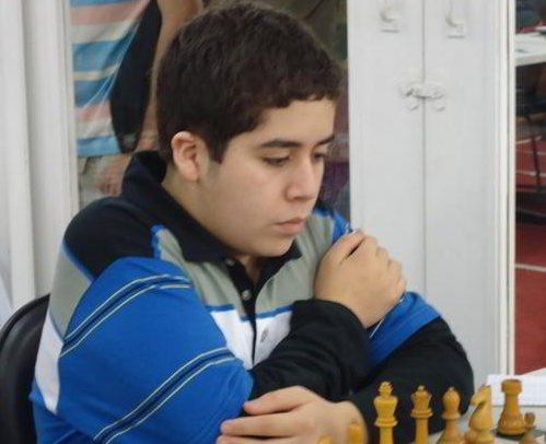 Cristobal Henriquez Villagra, de Chile, 17 años, campeón sub 20