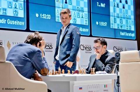 """Carlsen, """"desde el Olimpò, observando a los mortales"""""""