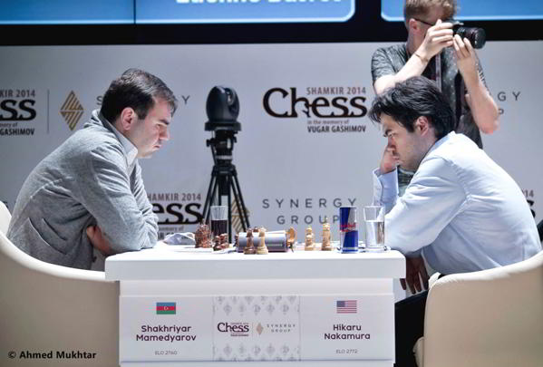 Nakamura venció a Mamedyarov