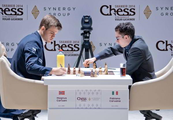 Caruana vs Carlsen