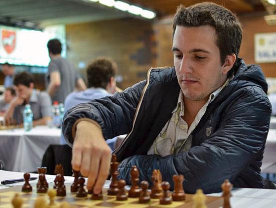 GM Axel Bachmann, de Paraguay