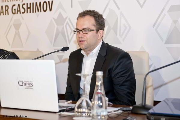 """Pavel Eljanov, ganador del Torneo """"B"""" en memoria de Vugar Gashimov"""