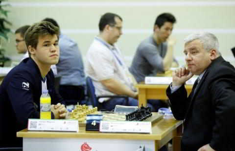 Carlsen vs. Georgiev