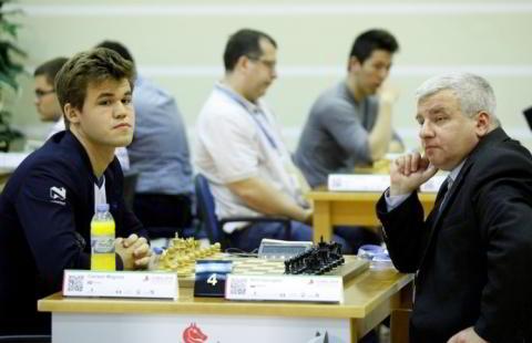 Carlsen vs. Georgiev