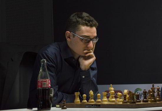 Fabiano Caruana comenzó con todo: 2 victoras en 2 partidas.