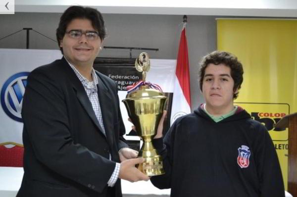 MI Cristóbal Henriquez de Chile, campeón (foto: ABC Color)