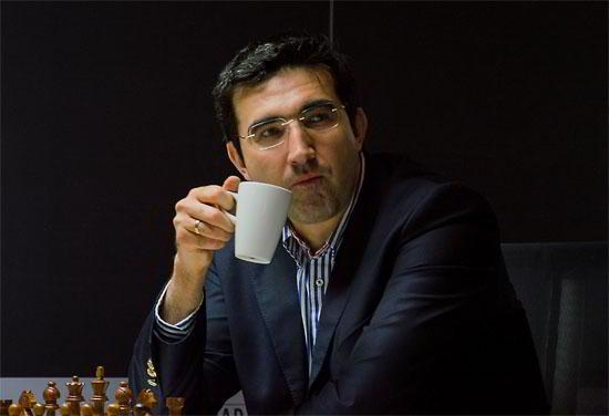 Vladimir Kramnik, y una gran victoria ante Anish Giri