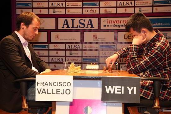 Paco Vallejo vs Wei Yi