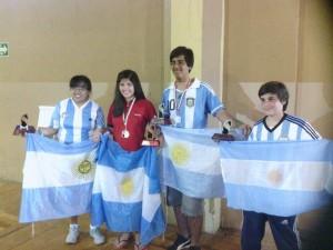Cuatro Medallas para Argentina: 2 de plata, 2 de bronce