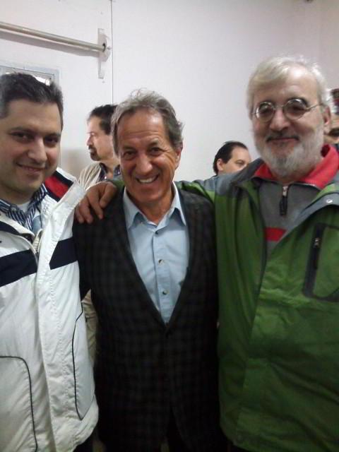 Mario Petrucci (al centro), presidente electo de la FADA