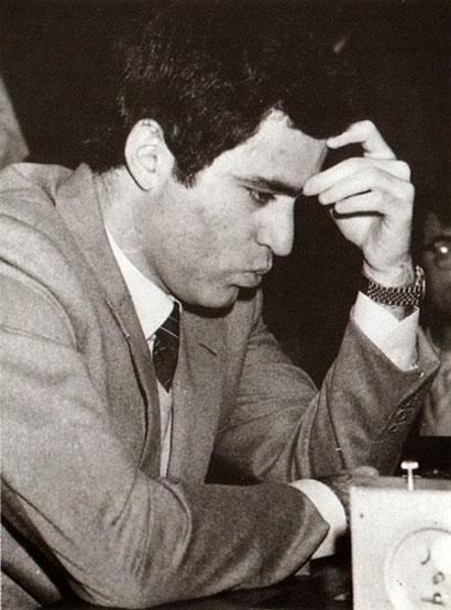 Garry Kasparov en 1989