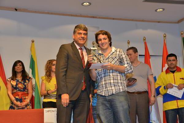 Javier Ochoa, Presidente de FIBDA junto al GM Axel Bachmann