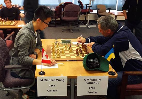 Vasily Ivanchuk gana el Magistral de Edmonton, Canadá (2014)