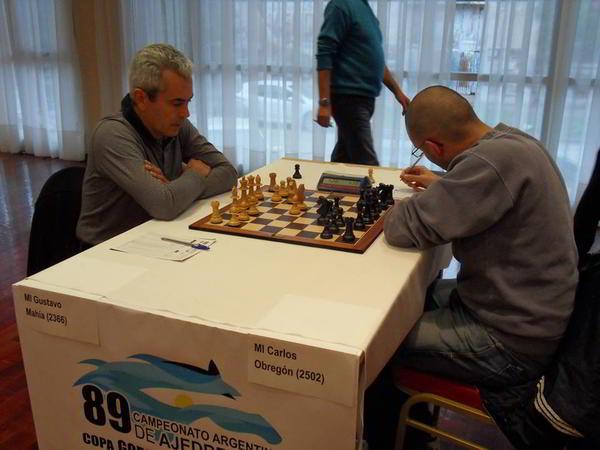 Gustavo Mahía vs Carlos Obregón
