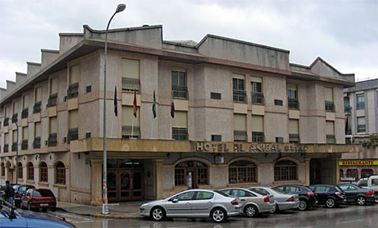 El Hotel Anibal, antigua sede del torneo de Linares, 1993