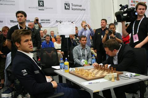 Carlsen vs Najditsch