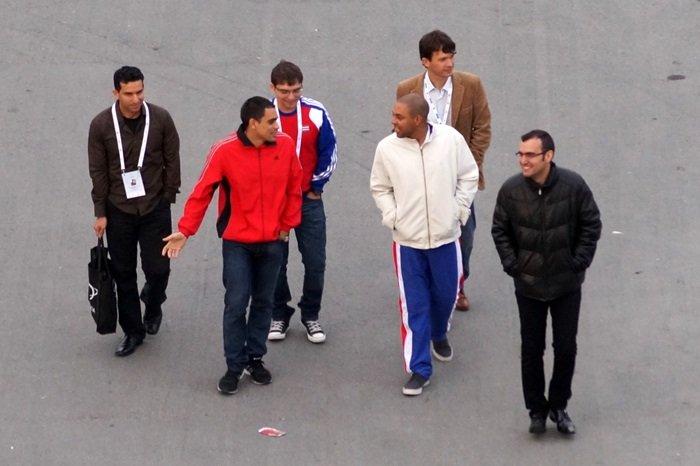 El equipo cubano