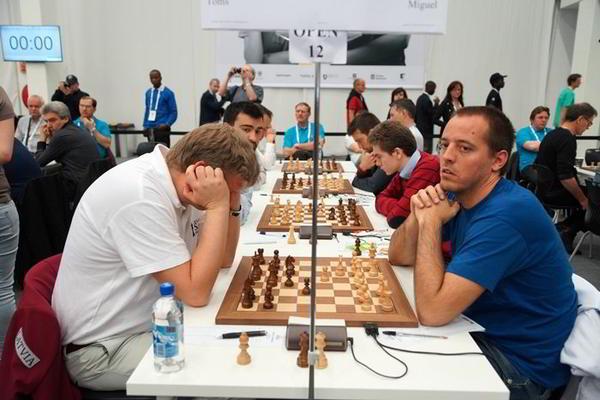 Vallejo vs Shirov, otrora compañeros de equipo español, se enfrentan en el match España vs Letonia