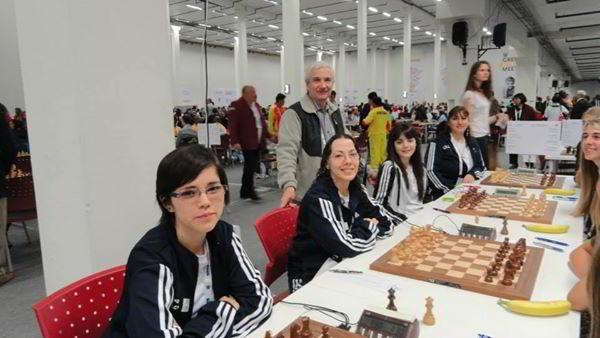 El equipo femenino de Argentina, en la 2da ronda