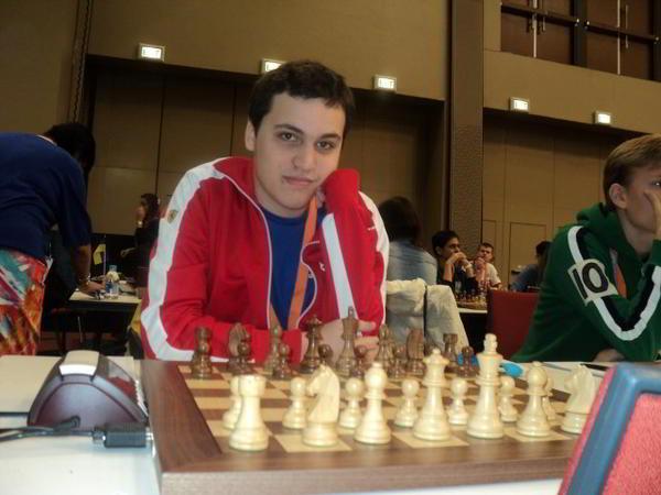 MI Alan Pichot, campeón mundial sub 16