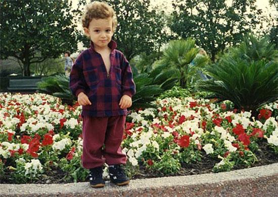 Fabiano Caruana con 3 años de edad
