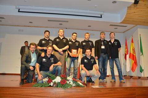 El equipo de Mérida, campeón de la División de Honor