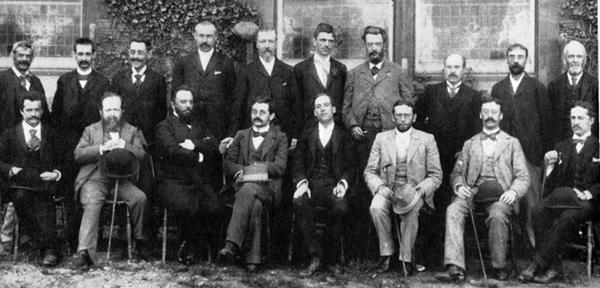 Participantes del torneo de Hastings 1895