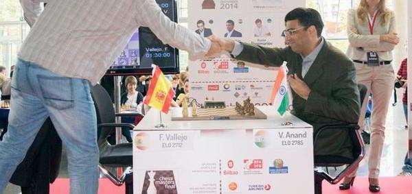 Bilbao R2: Anand derrota a Vallejo