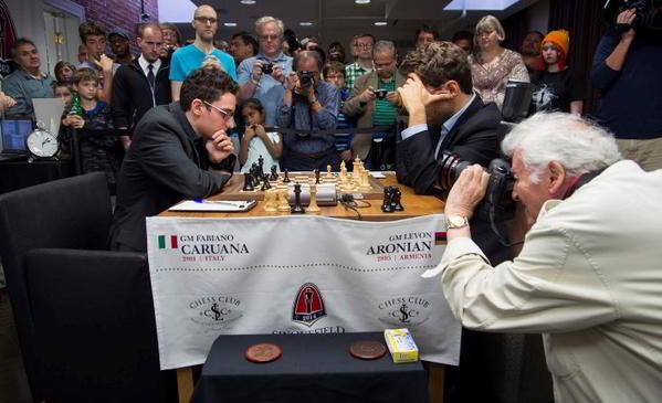 Caruana vs Aronian