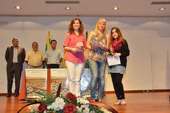 Sabrina Vega, Olga Alexandrova y Ana Matnadze
