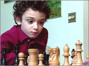 Fabiano Caruana, cuando era un niño