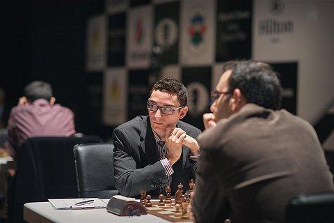 Caruana derrotó a Lenier Dominguez