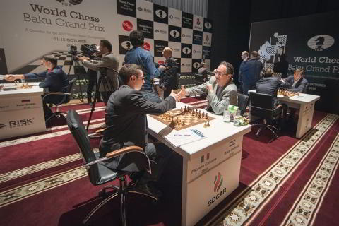 Caruana vs. Gelfand en la segunda ronda